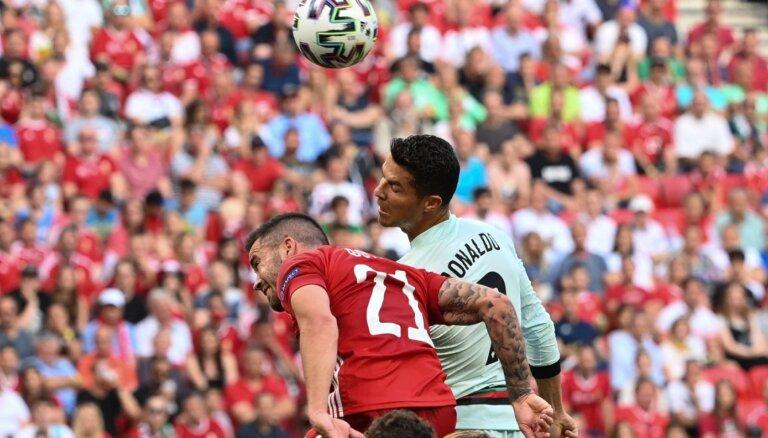 'Euro 2020' spēle: Ungārija – Portugāle. Teksta tiešraide
