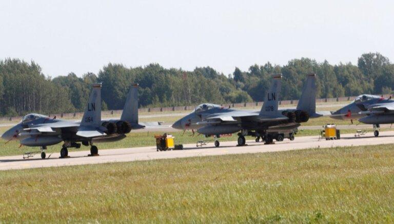 """В воздушном пространстве Балтии начались двухдневные авиаучения """"Ramstein Alloy"""""""