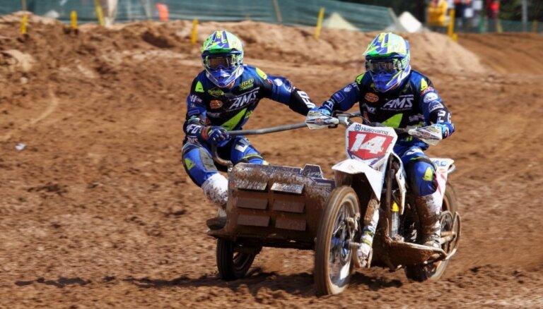 Blakusvāģu motokrosa kantētājs Lauris Daiders nākamajā sezonā startēs beļģa Santermansa ekipāžā