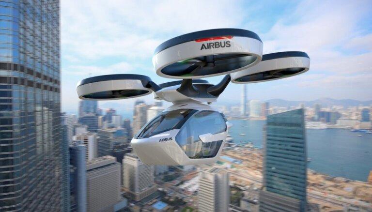 'Airbus' prezentējis sava lidojošā elektromobiļa prototipu