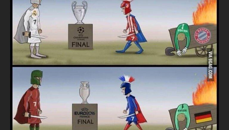 УЕФА определил финальную тройку на звание лучшего игрока Европы