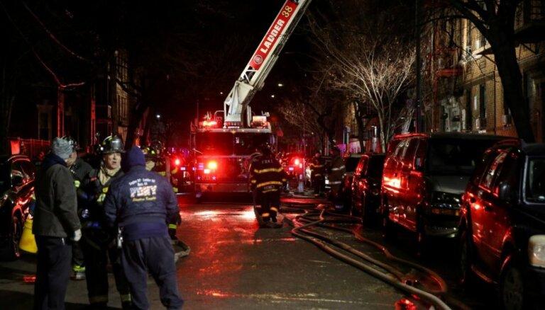 LETA: в ходе пожара полностью сгорели кабинеты главы Управления безопасности движения Госполиции и его помощницы