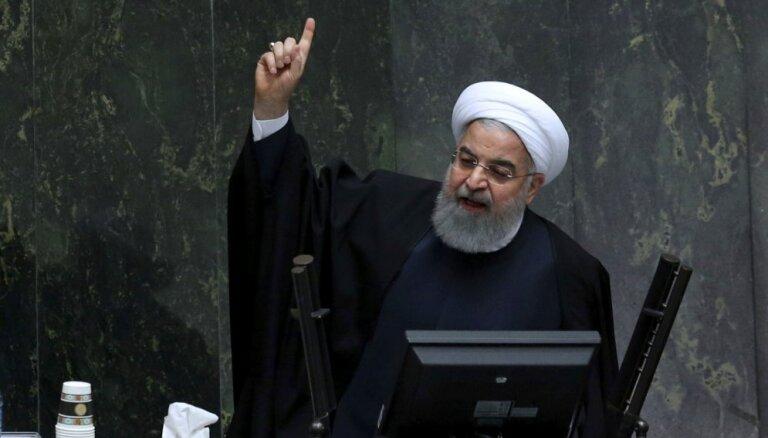 Ebreju lielākais ienaidnieks ir bīstamais cionisms, sludina Irānas prezidents