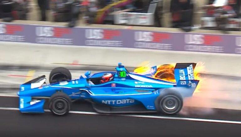 Formulu čempionāti: Masam pirmais pjedestāls; Rosenkvistam divreiz aizdegas mašīna