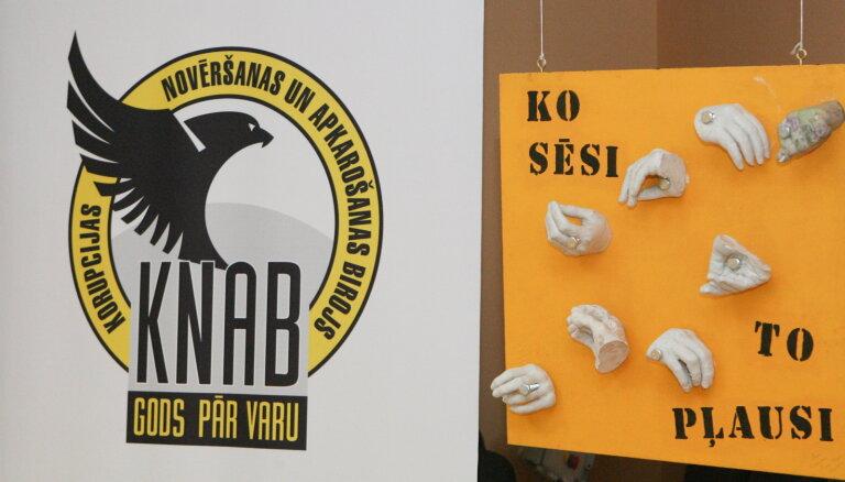 KNAB задержал главу закупочной комиссии Добельской думы