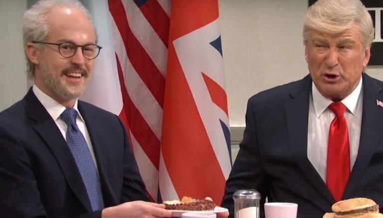 ВИДЕО: Американские комики посмеялись над президентом Латвии