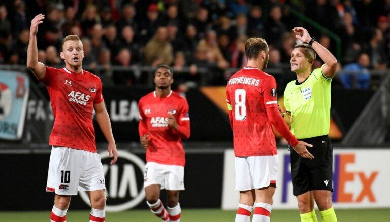 Nīderlandē noraidīta 'AZ Alkmaar' sūdzība pret sezonas noslēgšanu