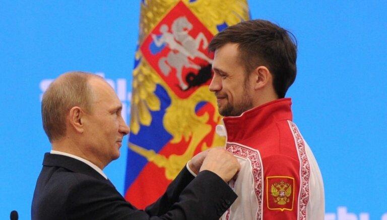 Krievija cer uz sodīto skeletonistu drīzu atgriešanos sacensībās