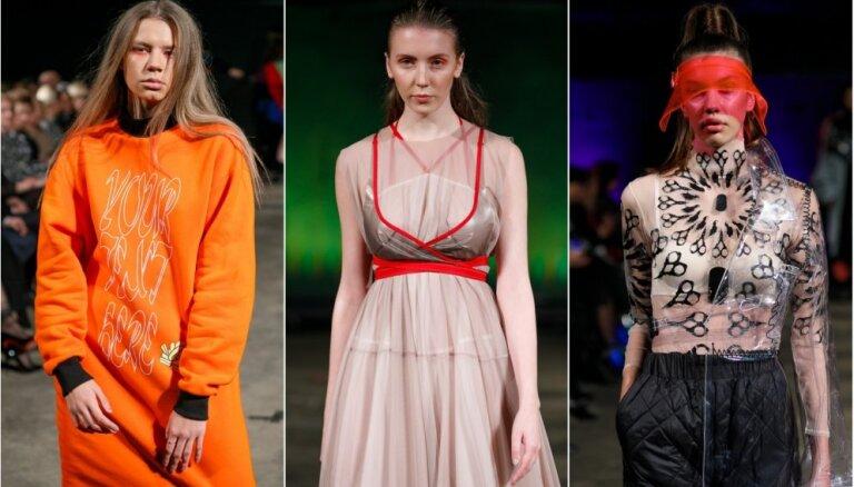 Rīgas modes nedēļas pirmās skates: košas krāsas, unikālas formas un laikmetīgums