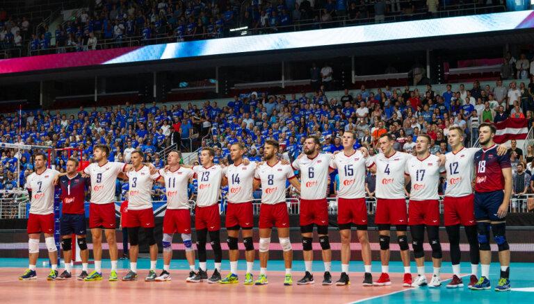 Latvijas volejbola izlases uzsāk gatavošanos noslēdzošajām EČ kvalifikācijas spēlēm