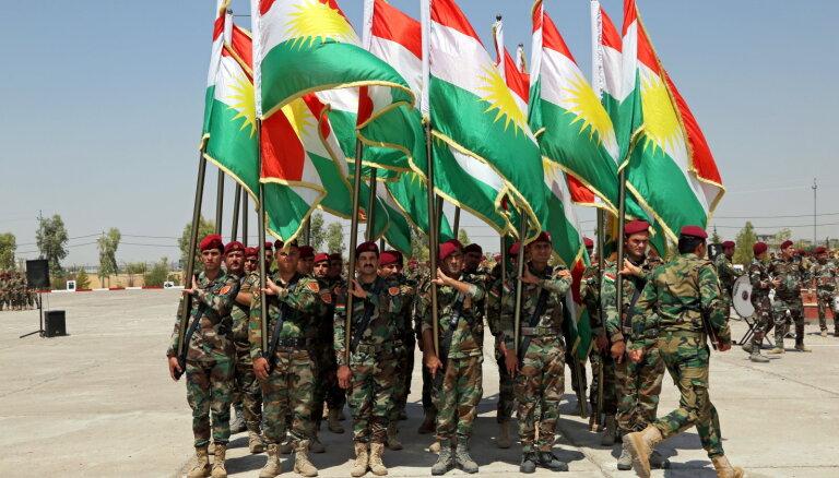 Karadarbības sekas jutīs ārpus Sīrijas robežām, brīdina Irākas Kurdistāna