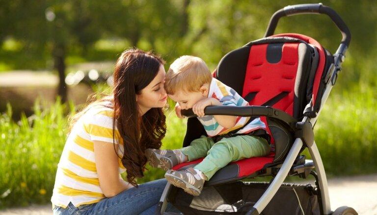 Trīs svarīgi faktori, iegādājoties bērnu ratus