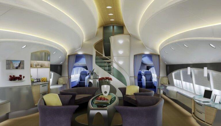 Презентован первый Boeing 747-8 в VIP-модификации