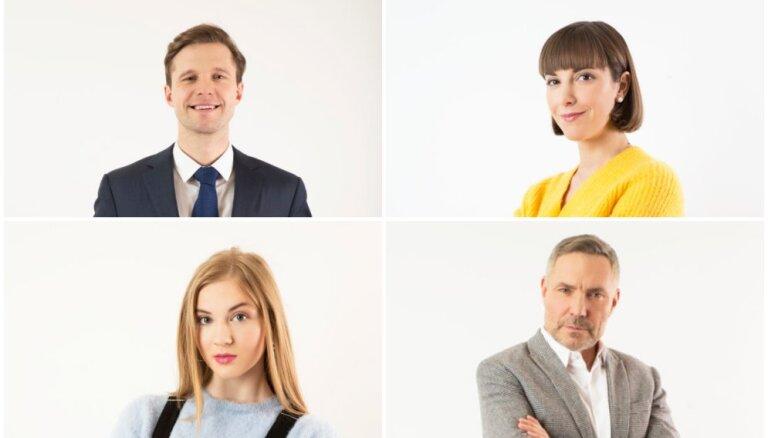 Iepazīsties! TV3 seriāla 'Viss pa jaunam' galvenie varoņi