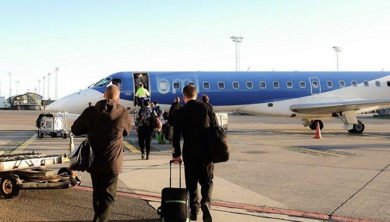 У новой эстонской авиакомпании возникли проблемы в первый день работы