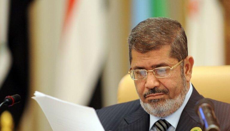 Ēģipte apsūdz ANO mēģinājumos politizēt Mursi nāvi