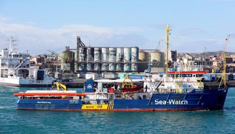Lietuvā ieradušies jau četri migranti no 'Sea Watch 3'
