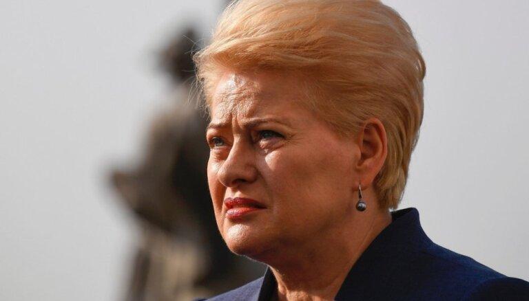 Korupcijas skandāls Lietuvā: prezidente atņem imunitāti astoņiem tiesnešiem