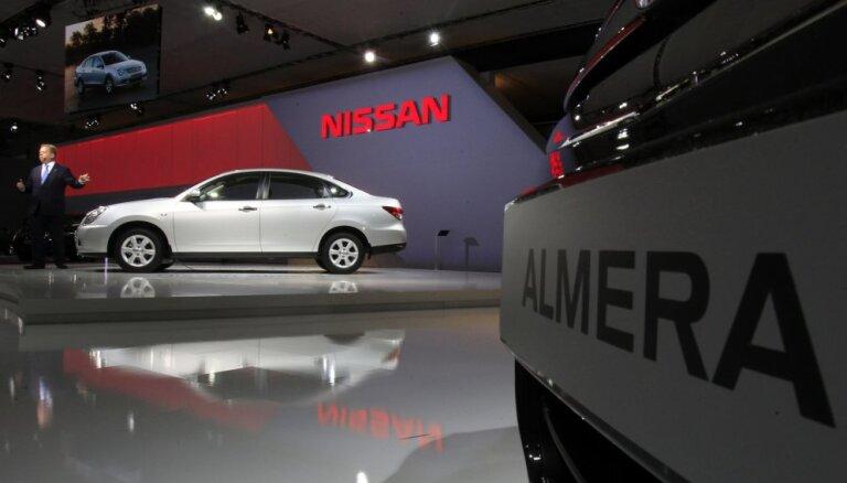 Студент купил для своей Nissan Almera номера за $800 тысяч