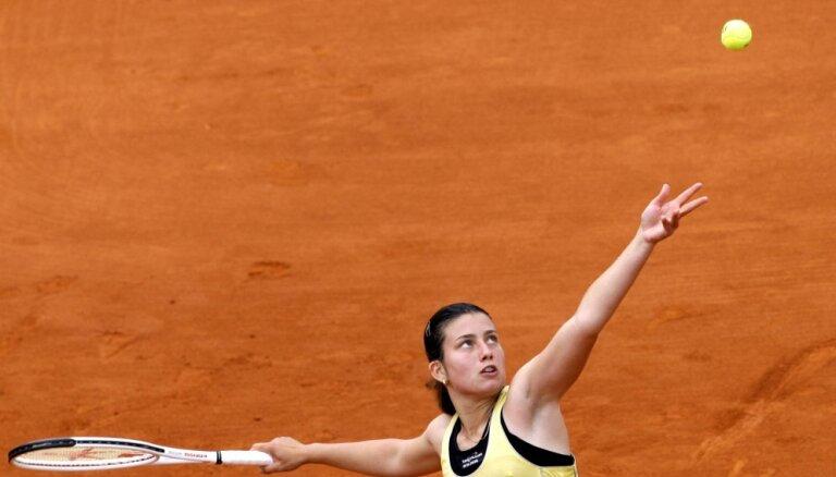 ВИДЕО: Севастова первой вышла в четвертьфинал турнира Premier в Мадриде