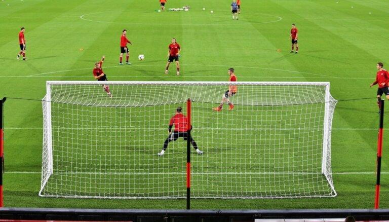 Latvijas U-21 futbolisti zaudē Lietuvai un paliek bez Baltijas kausa