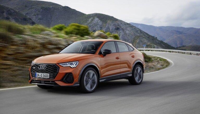 'Audi' piedāvājumu papildina 'Q3 Sportback' apvidnieks