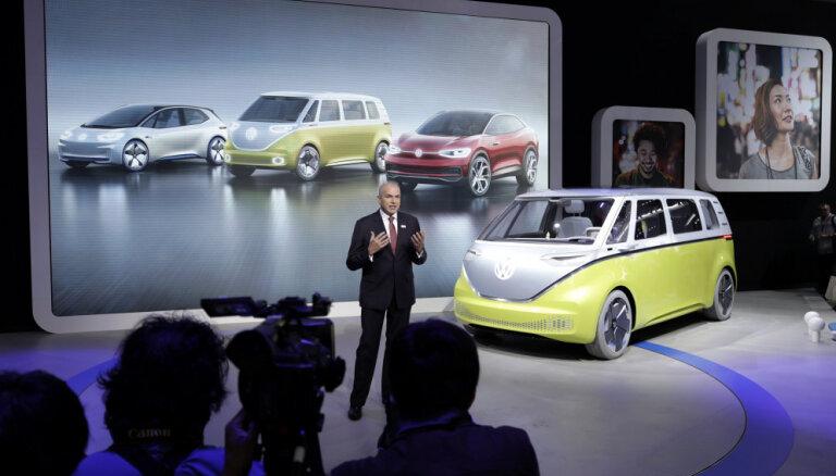 VW grupas auto tirdzniecība pērn sasniegusi rekordaugstu līmeni