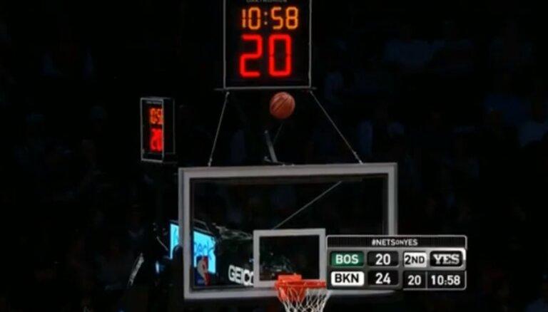 Video: kā pazaudēt basketbola bumbu groza konstrukcijā