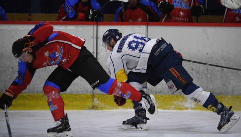 Hokejistam Grundmanim par meldonija lietošanu četru gadu diskvalifikācija