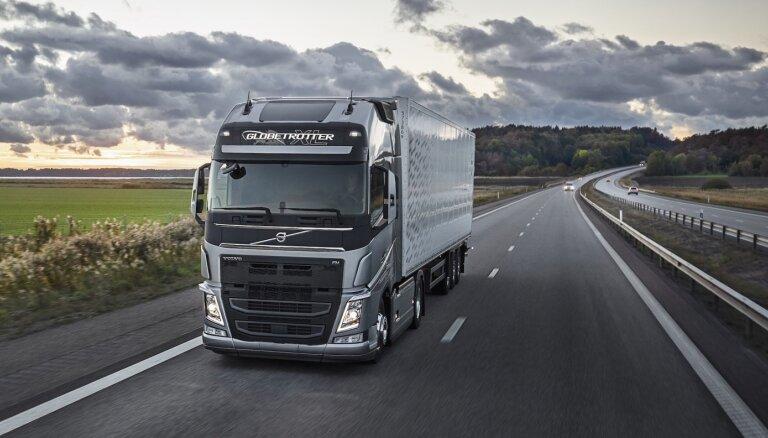 Latvijas jaunu kravas komercauto tirgus pērn sasniedz zemāko līmeni pēdējo deviņu gadu laikā