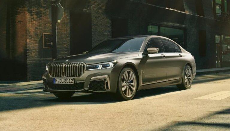 ФОТО, ВИДЕО: BMW представила обновленный седан 7-Series