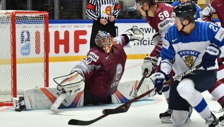 Сегодня сборная Латвии сыграет против Финляндии: в воротах дебютирует Калниньш