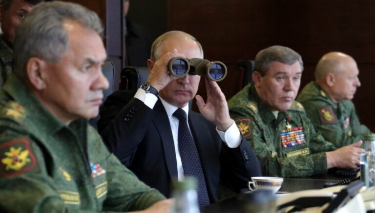 Mācībās 'Zapad 2017' Krievija pārbaudīja uzbrukuma operāciju īstenošanu; tiešu iebrukuma draudu nebija