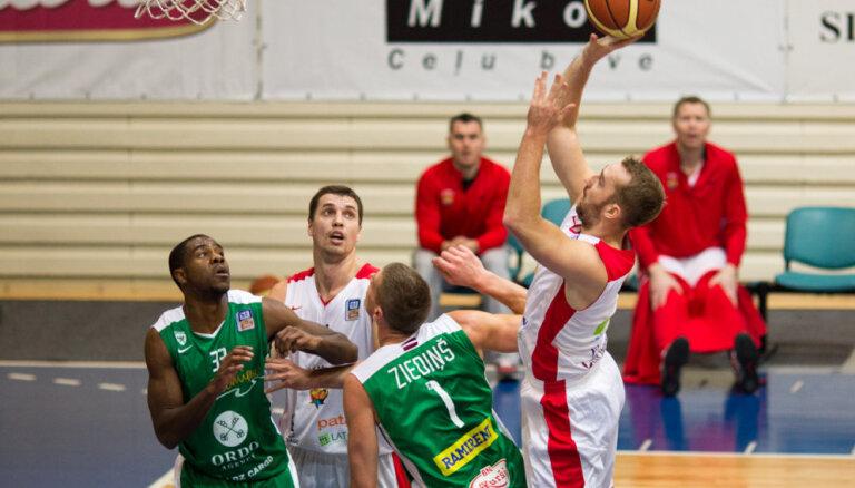 'Jēkabpils' basketbolisti BBL mačā pārspēj 'Valmieru'