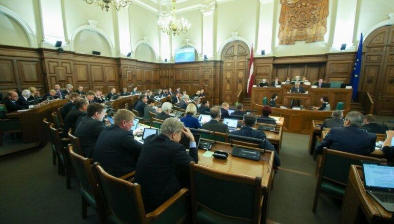 Saeimas Juridiskais birojs jautājuma formulējumu par Kaimiņa aizturēšanu skaidro kā pārpratumu