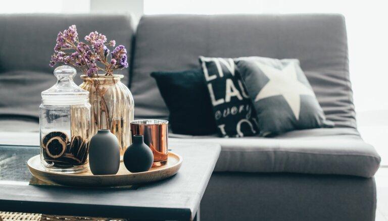 Pieci iemesli, kas pierāda – pelēkā krāsa mājoklī ir labākā izvēle