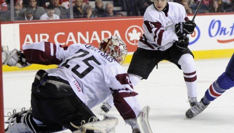 Latvijas U-20 hokeja izlase pasaules čempionāta apakšgrupas pēdējā spēlē tiksies ar Šveici