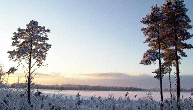 Svētdien nokrišņi nav gaidāmi; gaisa temperatūra noslīdēs līdz -6 grādiem