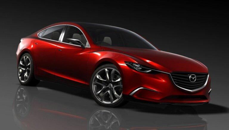 Mazda показала систему рекуперативного торможения