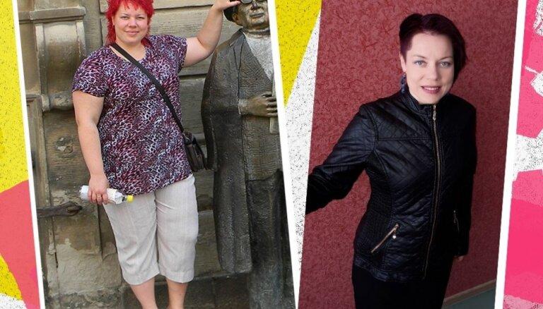 Ivetas stāsts par to, kā ar trim mēģinājumiem viņa atbrīvojās no 40 kilogramiem