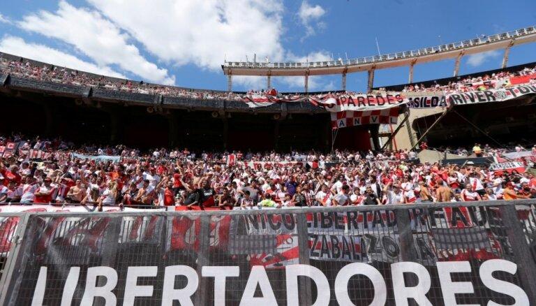 Dienvidamerikas klubu futbola galvenā spēle oficiāli pārcelta uz Spāniju