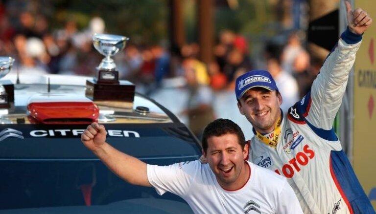 Экс-пилот Формулы-1 одержал победу в чемпионате WRC2