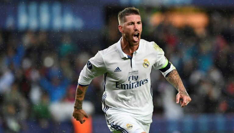 Ramosa realizēta 'pendele' ļauj 'Real' svinēt minimālu uzvaru