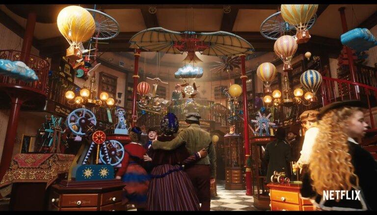 Decembris nav aiz kalniem! Klajā laists ieskats filmā 'Jingle Jangle: Ziemassvētku ceļojums'