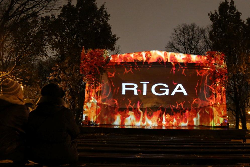 Как выглядят те объекты Staro Rīga 2016, до которых ты, вероятно, не дойдешь