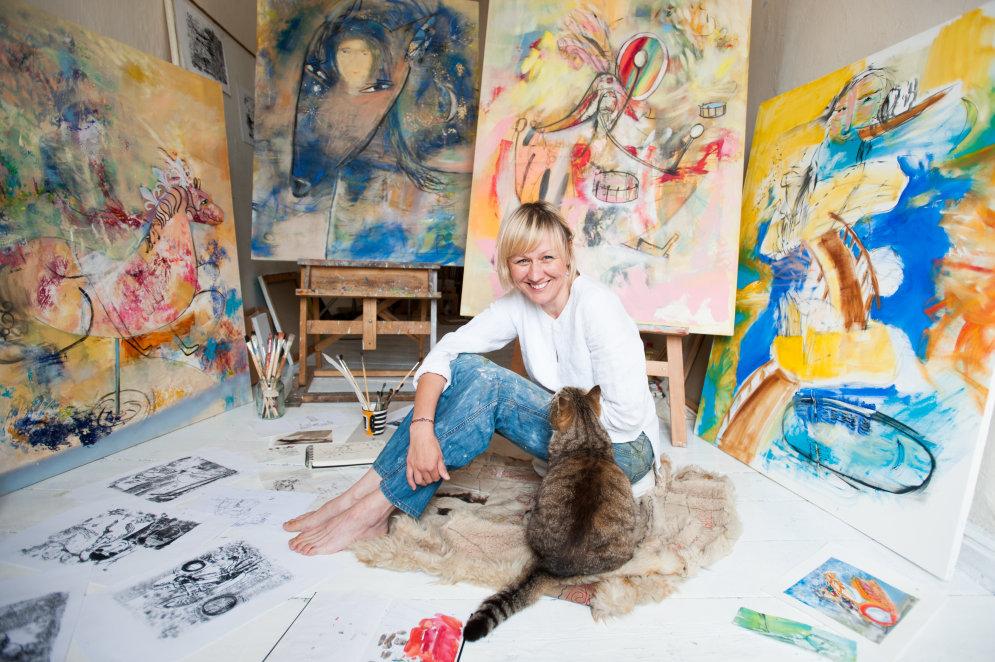 """Даугавпилсские художники о творческом процессе: """"То же самое, что оргазм"""""""
