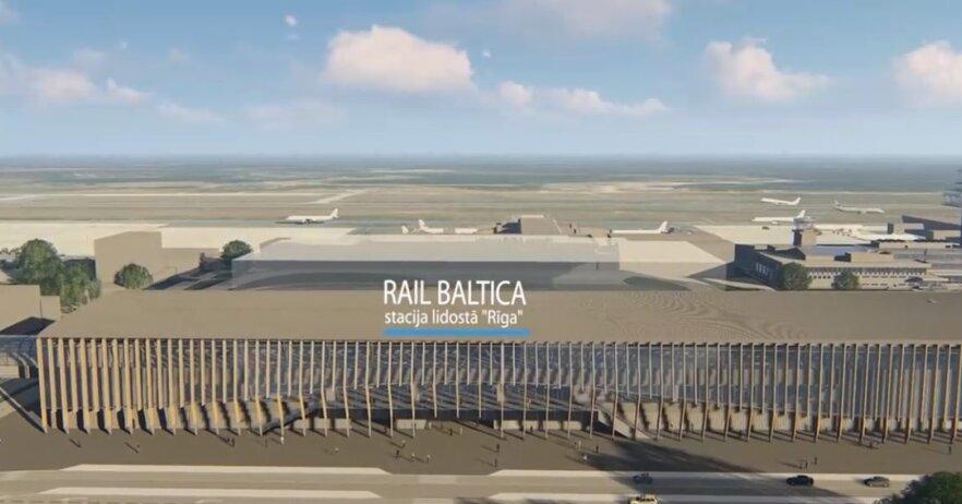 Rail Baltica: возле Рижского аэропорта планируется вырубить 410 деревьев