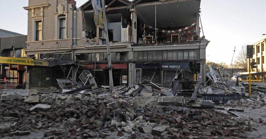 что н зеландия землетрясение фото такая вероятность существует