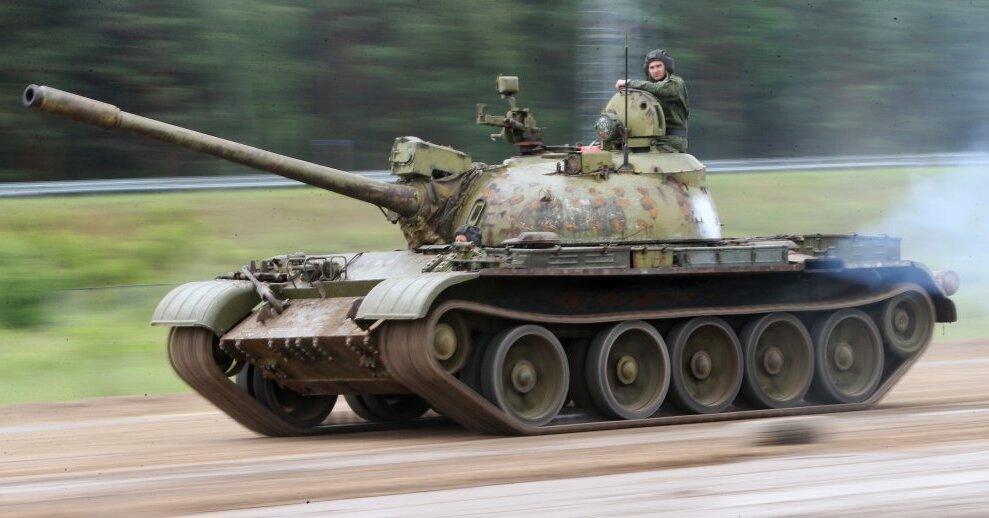 Латвийская армия отремонтирует чешские танки T-55