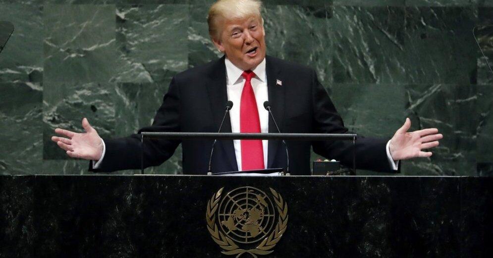 Трамп в ООН: об Иране, Венесуэле, России и мировом правительстве